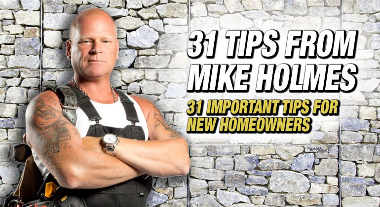 31 Important Tips For New Homeowners
